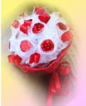 Букет из конфет - свадебный