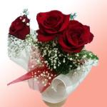 """Букет цветов """"Страстный поцелуй"""""""