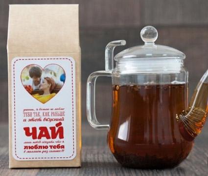 Этикетка для чая с Вашим фото