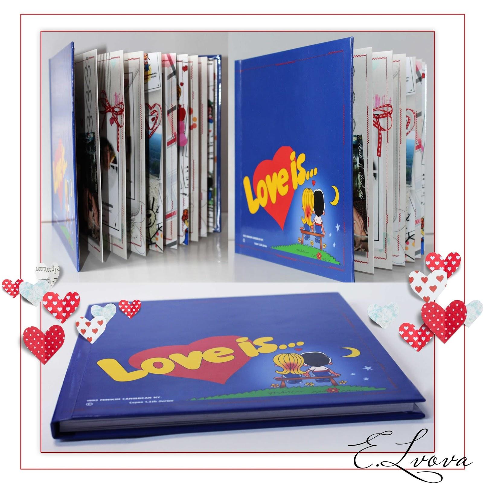 """Фотокнига """"Love is..."""""""