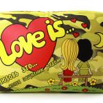 """Подушка """"Love is..."""" c 23 февраля."""