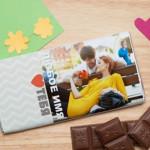 Обертка для шоколада с Вашим фото